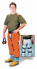 Steel Grip Nylon Lined Chainsaw Chaps