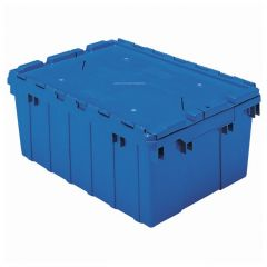 Akro-Mils™ Attached Lid Containers: 35 lb. Capacity