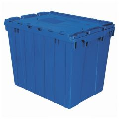 Akro-Mils™ Attached Lid Containers: 100 lb. Capacity