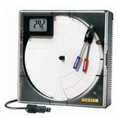 Dickson™ TH8 Remote Sensing Temperature/Humidity/Dew Point Chart Recorder