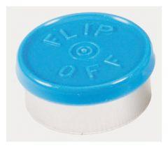 DWK Life Sciences Kimble™ Kontes™ Flip-Off Button-Top Aluminum Seals, Color Coded