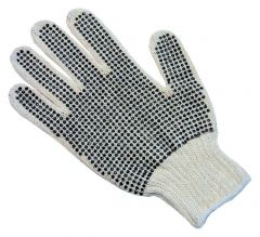 Fisherbrand™ PVC Dotted String Knit Gloves