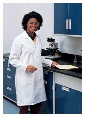 Superior Uniform Cotton Twill Knee-Length Lab Coats
