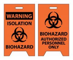 National Marker™ Biohazard Floor Signs