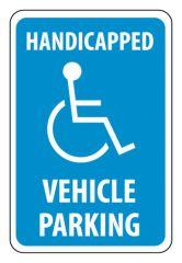 National Marker™ Handicapped Parking Signs