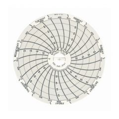 Dickson™ Replacement Charts for Super-Compact SC3 Temperature Chart Recorders
