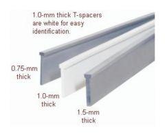 Hoefer™ SE 250 Vertical Electrophoresis Unit Accessory, T-Spacers