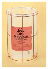 Bel-Art™ SP Scienceware™ Poxygrid™ Biohazard Bag Holders, Accepts 12 x 24 in. bags