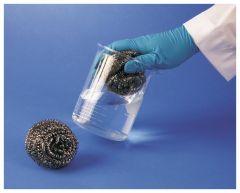 Bel-Art™ SP Scienceware™ Cleanware™ Stainless-Steel Glassware Sponge/Scrubber
