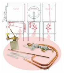 Market Forge Market Forge Sterilmatic™ Sterilizer Accessory, Exhaust Condensers