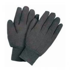 Wells Lamont™ Brown Poly/Cotton Blend Medium Weight Gloves