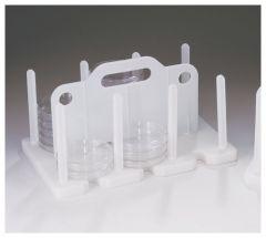 Bel-Art™ SP Scienceware™ Contact Plate / Petri Dish Rack