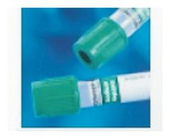 BD Vacutainer™ Plastic Blood Collection Tubes with Sodium Heparin: Conventional Stopper
