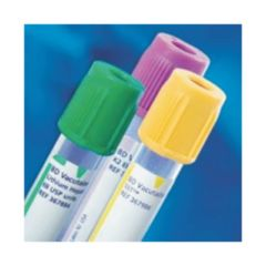 BD Vacutainer™ Plastic Blood Collection Tubes with Fluoride: Conventional Stopper