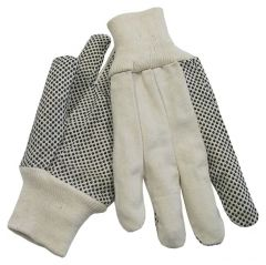 Fisherbrand™ Dotted Canvas Gloves
