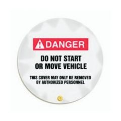 Accuform Signs Steering Wheel Covers - Danger: Do Not Start or Move this Vehicle