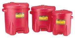 Eagle™ Polyethylene Oily Waste Cans