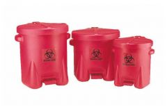 Eagle™ Step-On Biohazard Waste Containers
