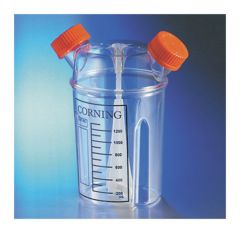 Corning™ 1L and 3L Disposable Plastic Spinner Flasks