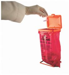 Bel-Art™ SP Scienceware™ Poxygrid™ Benchtop Biohazard Bag Holder Cover