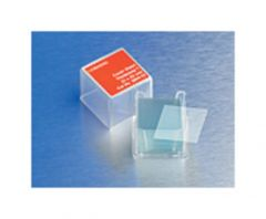 Corning™ Square and Rectangular Cover Glasses, Square; No. 1.5; Thickness: 0.16 to 0.19mm; Size: 18 x 18mm