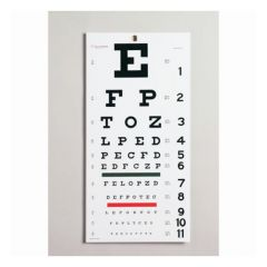 Moore Medical Edwards Medical™ Snellen Eye Chart