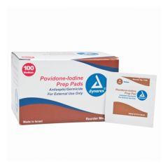 Moore Medical Dynarex™ Povidone Iodine Prep Pads