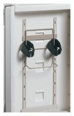 Metro™ Flexline™ Cart Accessory - Sharps Container Bracket with Hook-and-Loop Straps