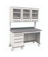 Metro™ Starsys™ Mobile Work Centers With Overhead Cabinet