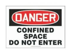 Accuform Signs Confined Space Do Not Enter
