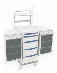Metro™ Starsys™ Preconfigured Mobile Workstation, Biomedical Cart