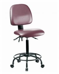 Fisherbrand™ Medium-Form Vinyl Chair with Powder-Coated Steel Frame