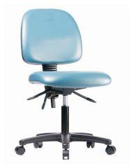 Fisherbrand™ Low-Form Vinyl Chair with Nylon Reinforced Fiberglass Frame, Desk Height