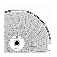 Graphic Controls 4 in. Circular Charts for Dickson Recorders