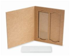 Fisherbrand™ 2-Place Cardboard Slide Holders, pk36, Cardboard