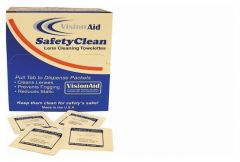 Raidians VisionAid™ SafetyClean Lens-Cleaning Towelettes