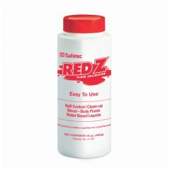 Safetec™ Red-Z™ Biohazard Fluid Control Powders