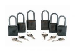 Brady™ Keyed Alike Aluminum Padlocks with1.5 in. Shackle Locks