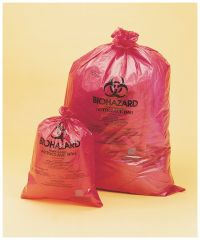 Bel-Art™ SP Scienceware™ 1.5 mil Thick Biohazard Disposal Bags