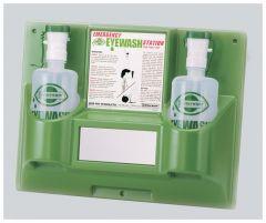 Bel-Art™ SP Scienceware™ Eye Wash Safety Stations, Double bottle; 32 oz. (1000mL)