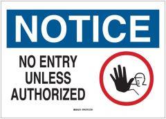 Brady™ Admittance Signs