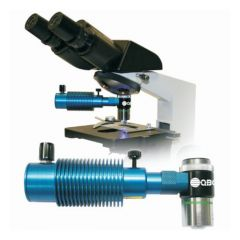 QBC Diagnostics ParaLens Advance™ Fluorescence Microscope System: With 60X, 100X Obj. and With Portability Pack
