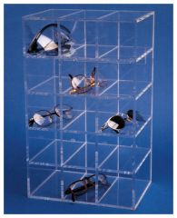 S-Curve™ SGD-15 Safety Glasses Dispenser