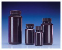 DWK Life Sciences Wheaton™ Leak-Resistant Wide-Mouth HDPE Bottles
