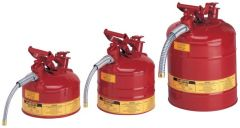 Justrite™ Type II AccuFlow™ Steel Safety Cans