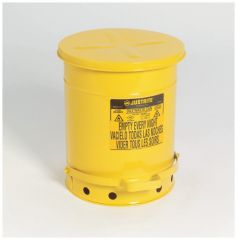 Justrite™ Galvanized-Steel Oily Waste Safety Cans
