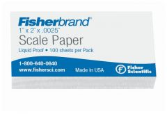 Fisherbrand™ Liquid Proof Scale Papers, 0.0025 in. Thick