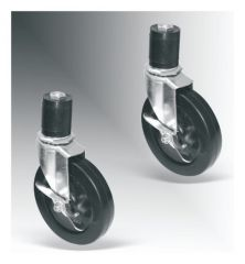 Fisherbrand™ Stainless-Steel Cleanroom Table Casters