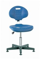 Bevco™ Everlast Series Cleanroom ISO 4 Polyurethane Seating, Desk Height, Without Footring