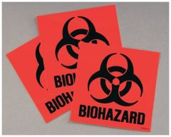 Justrite™ Code Compliant for California Label Kit for Biohazard Cans